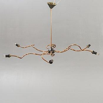 A unique 21st century ceiling lamp.