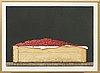 Philip von schantz, colour lithograph, signed -80, p.t. (trail print).