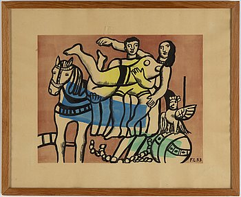 Fernand Léger, litograph in colours, signed and numbered 27/285.