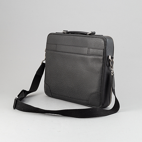 Louis vuitton, a taiga briefcase/laptop bag, 2011.