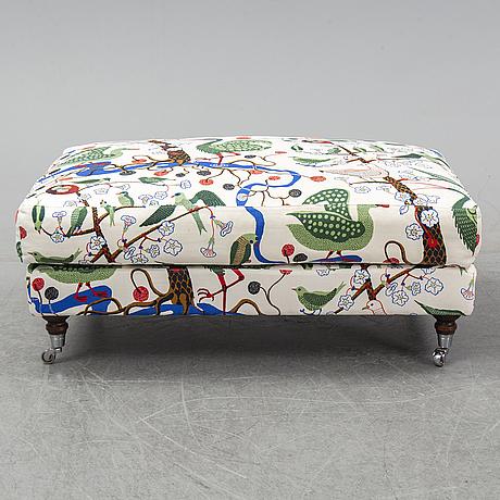 A foot stool from norell möbler.