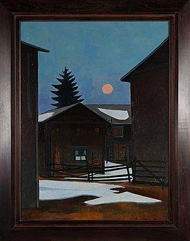 Juhani Palmu, oil on canvas, signed.