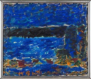 Rafael Wardi, oil on canvas, signed.