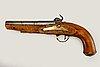 Pistol, slaglås, sannolikt sverige, 1800-talets första hälft.
