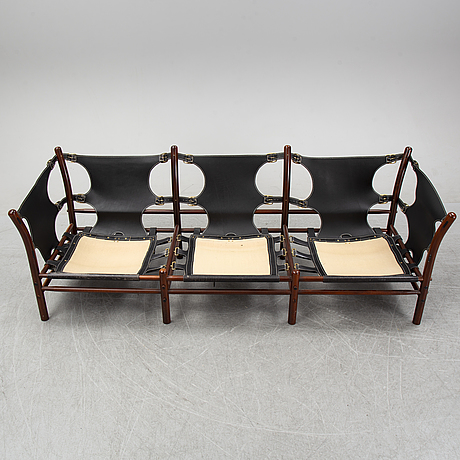 Arne norell, a 'ilona' sofa for norell möbler, second half of the 20th century.