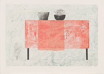 Reino Hietanen, lithograph, signed and dated 2005, numbered XIV/XV.