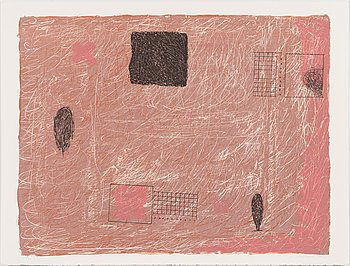 Reino Hietanen, lithograph, signed and dated 1992, numbered 7/30.