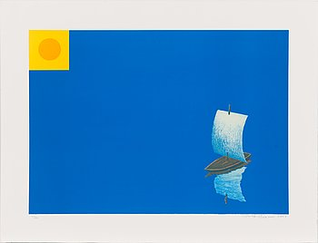Risto Suomi, lithograph, signed and dated 2003, numbered 1/80.