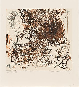 Tapani Mikkonen, lithograph, signed and dated -95, numbered Tpl'a 5/10.
