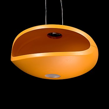 An 'O space' ceiling light by Luca Nichetto and Gianpietro Gai for Foscarini.