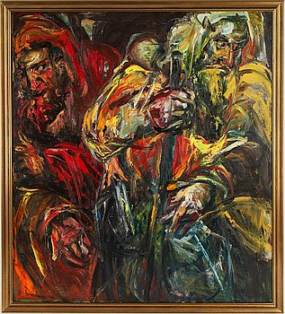 Jan Naliwajko, oil on canvas signed and dated 1981.