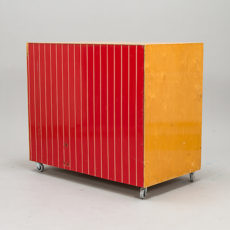 An archive cabinet, 1950s-1960s.