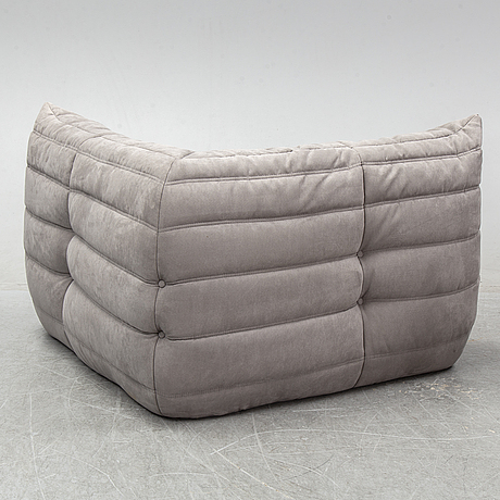 Michel ducaroy, a two-module 'togo' sofa from ligne roset.