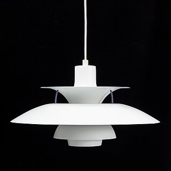 Poul Henningsen, a 'PH 5' pendant light, Louis Poulsen, Denmark.