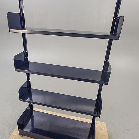 "Bookshelf ""congresso"" lips vago italy 1970s laquered steel."