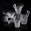 """Fritz kallenberg,a 72 pcs """"rut"""" glass service from kosta boda later part of the 20th century."""
