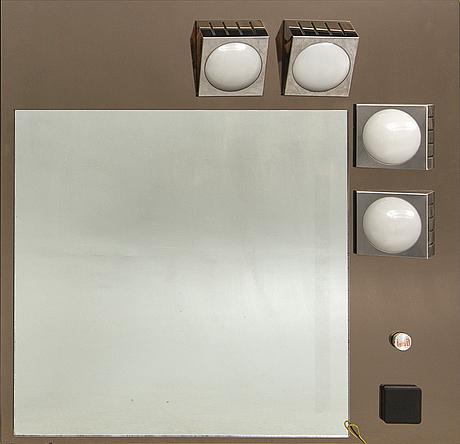 An isa bathroom mirror italy 1960s.