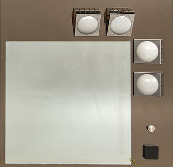 Toilettspegel ISA Italien 1960-tal.
