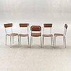 Köksbord, bord samt stolar 4+1 st salvazini italien 1960-tal.