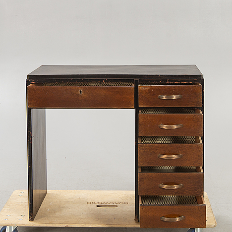 An art deco desk first half of the 20th century.