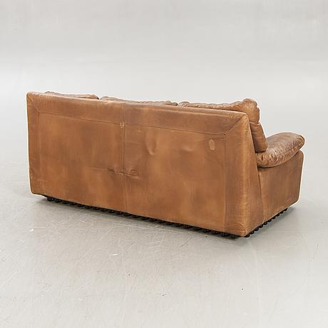 Ferruccio brunati, sofa and footstool italy, 1970s.