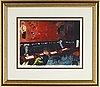 Peter dahl, a litograph in colours, signed and numbered 51/375.