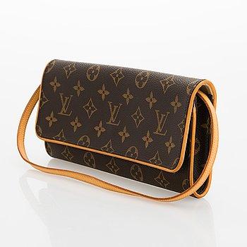 Louis Vuitton, A Monogram 'Pochette Twin' Bag.