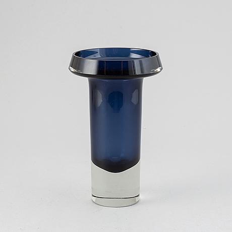 Kaj franck, a 'kf 260' glass vase from nuutajärvi notsjö, finland -63.