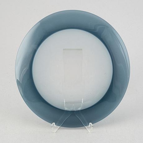 Timo sarpaneva, a glass plate, iittala, finland -57.