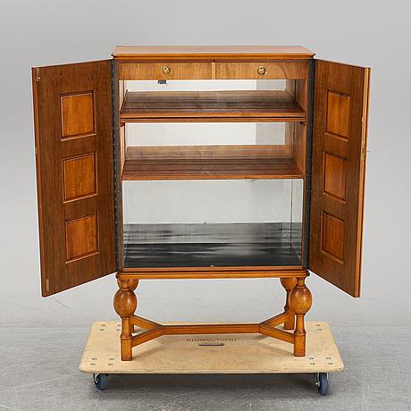 A 1950's mahogany cabinet by eugen höglund.