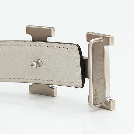 Hermès, mini constance belt, 2009.