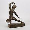 Sigge berggren, a signed bronze sculpture.