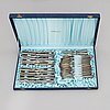 A 71-piece set of 'margit' silver cutlery, helsinki and hämeenlinna, finland 1963-68.