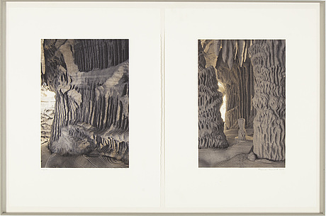 Thomas demand, photogravure, diptych, signed, numbered 23/100 and dated 2004.