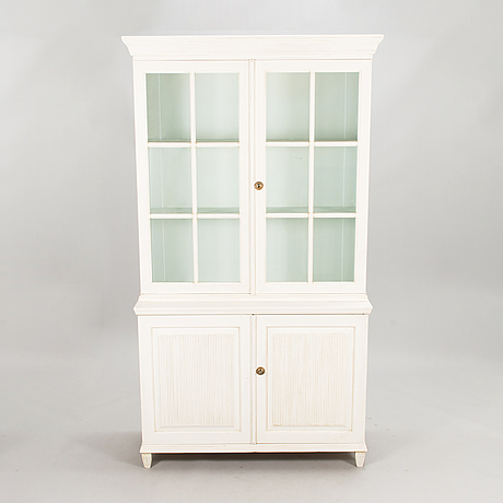 A late 19th century display cabinet.