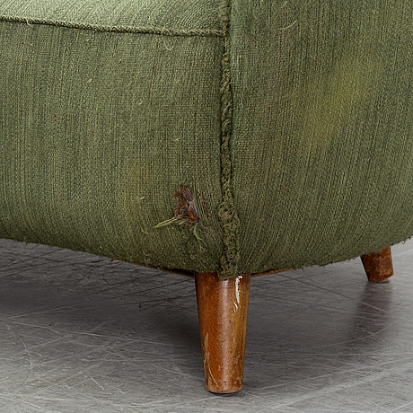 A sofa from p.i. langlos, norway, 1940's/50's.