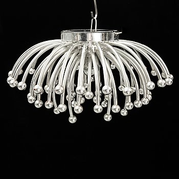 A ceiling/wall lamp, 'Pistillo', Valenti, Italy, second half of the 20th century.