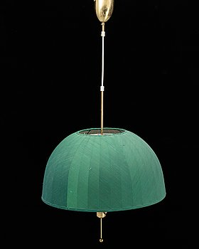 A brass ceiling lamp by Hans-Agne Jakobsson, model  549/6, second half of the 20th century.