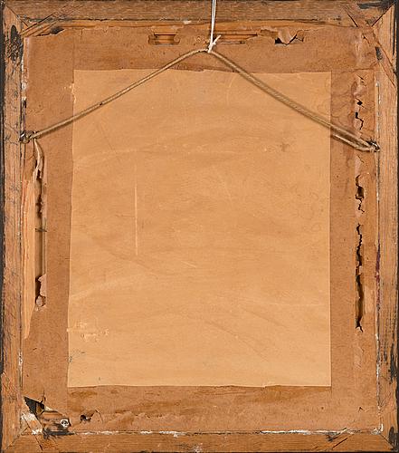 Tuntematon taiteilija, 1800-luvun ensimmäinen puolisko, öljy levylle.