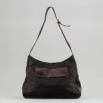 Mulberry, a nylon handbag.