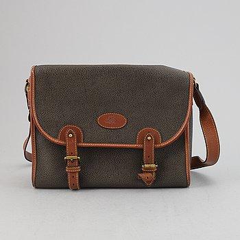 Mulberry, a scotchgrain handbag.