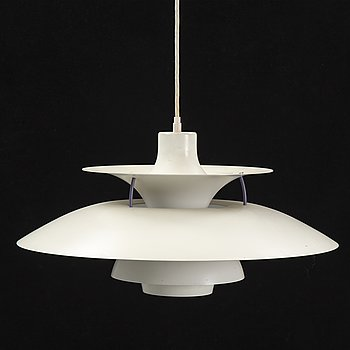 A 'PH-lamp' ceiling lamp designed by Poul Henningsen, Louis Poulsen, second half of the 20th century.