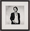 Terry o'neill, photograph signed and numbered 15/50.