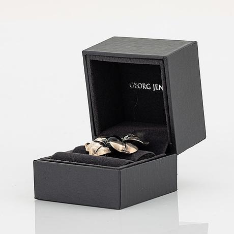 A georg jensen silver ring.