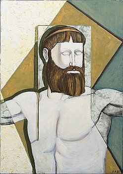 Lars Andersson, oil on canvas singed and dated 89.