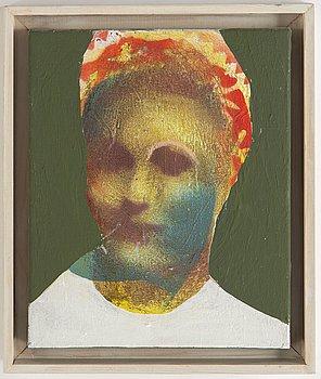 Thomas Kihlberg, acrylic on canvas, signed and dated 2012 verso.
