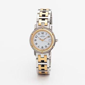 Hermès, Clipper, wristwatch, 24 mm.