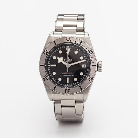 Tudor, black bay, 200m, armbandsur, 41 mm.
