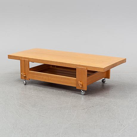 Yngve ekström, a 'kontrapunkt' coffee table for swedese möbler ab, designed 1968.