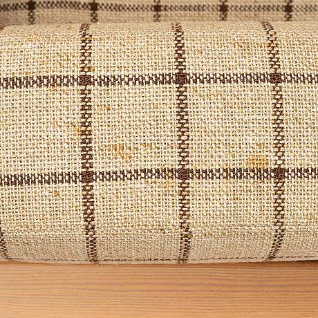 A pine sofa from the series 'kontrapunkt', designed in 1968 by yngve ekström, swedese möbler ab.